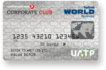 Turkish Airlines Corporate Club Kredi Kartı