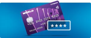 Kredi Kartı Şifre Belirleme